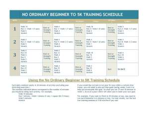No-Ordinary-Beginner-to-5k-Training-Schedule